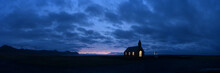 Sunrise At The Black Church Of...