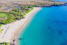 Aerial View Of Hapuna Beach, W...