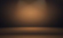 Abstract Smooth Brown Wall Bac...