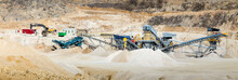 Gravel Plant With The Sand Fra...