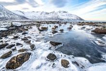 Norwegen, Troms, Torsken, Küs...