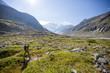 Österreich, Salzburg, Zell am See, Wanderung im Nationalpark Hohe Tauern, rund um das Berghotel Rudolfshütte, Tal
