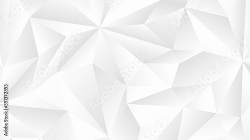 Fotografie, Obraz Abstract geometric background with triangle shape
