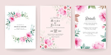 Floral Background. Wedding Inv...