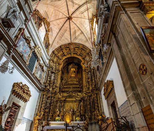 Obraz na plátně Arouca Church of the Monastery of Saint Mary