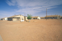 Housing Project On Navajo Indi...