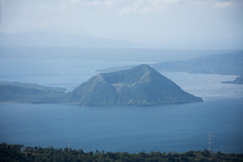 Taal Volcano In Taal Lake, The...