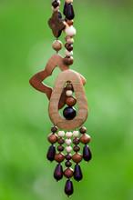 Bracelet Made Of Wooden Beads ...