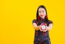 Portrait Beautiful Young Asian...