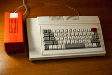 Retro Computer, USSR Clone Of The ZX Spectrum With Instruction Manual. Delta-C 128.