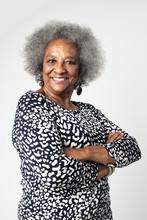 Proud Black Senior Woman With ...