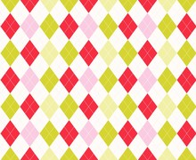 Seamless Pattern With Argyle B...