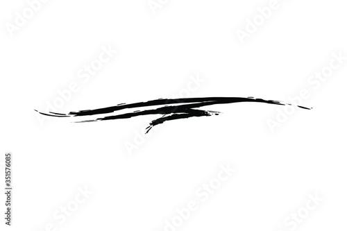 Slika na platnu underline strokes  Vector