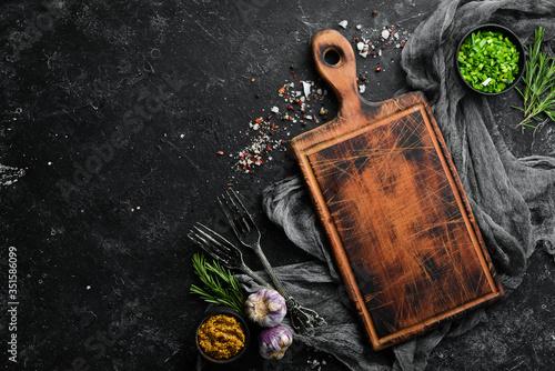 Obraz na plátne Food background
