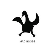 Goose Bird Animal Dance Logo I...