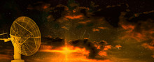 Radio Telescope At The Dawn Of...