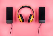 Listen To Music Concept. Audio...