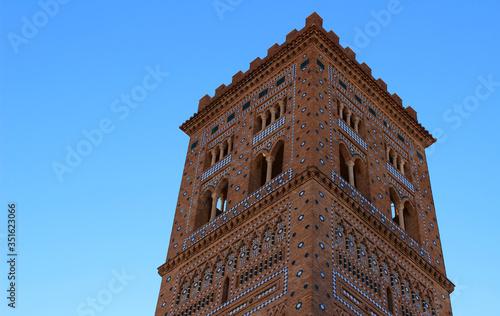 Photo Torre mudéjar de El Salvador en Teruel
