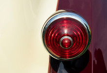 Cropped Image Of Vintage Car Tail Light