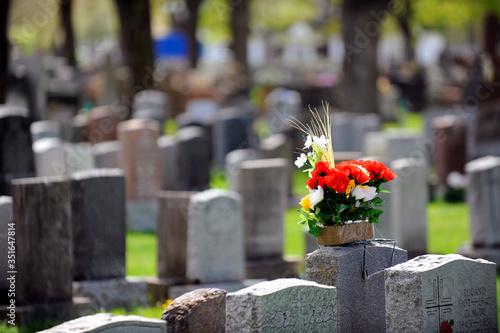 Photo cimetière catholique
