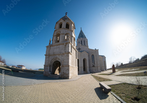 Photo Holy Savior Cathedral commonly referred to as Ghazanchetsots is an Armenian Apos