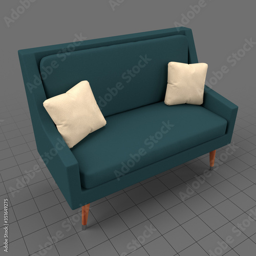 Obraz Modern sofa - fototapety do salonu