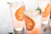 Grapefruit Cocktail With Rosem...