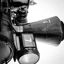 Close Up Of Old Steam Engine