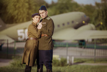 Young Adult Man And Woman In T...