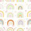 Vector seamless pattern. Kids background