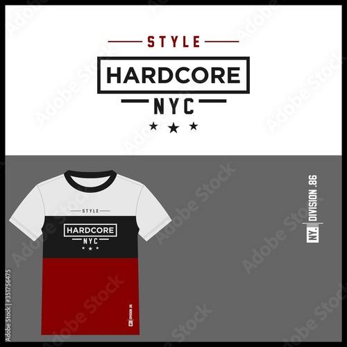 hardcore t shirt concept Tapéta, Fotótapéta