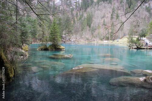 Fototapety, obrazy: Scenic View Of Calm Lake