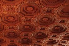 Full Frame Shot Of Ceiling