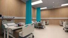 3d Rendering. Interior Hospita...