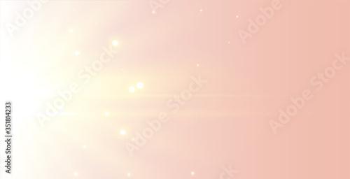 Fototapeta beautiful elegant soft glowing light rays background