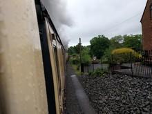 Steam Train At Severn Valley Railway