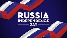 Happy Russia Day Ackground Tem...