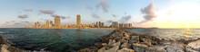Panoramic View Of Tel Aviv In ...