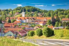 Town Of Varazdinske Toplice In...