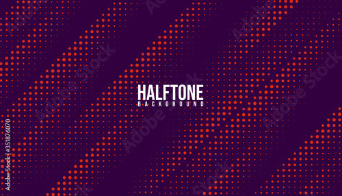 Valokuva Abstract vector halftone background monochrome printing raster