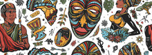 Africa Seamless Pattern. Afric...