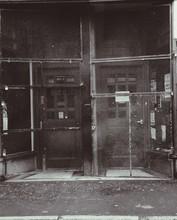 Locked Wrought Iron Door