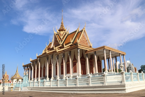 Phnom Penh - Palais royal Canvas