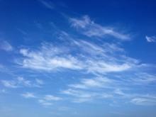 Blue Sky With Subtle Clouds