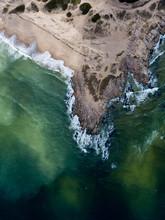 Uruguay, Punta Del Diablo. Aer...