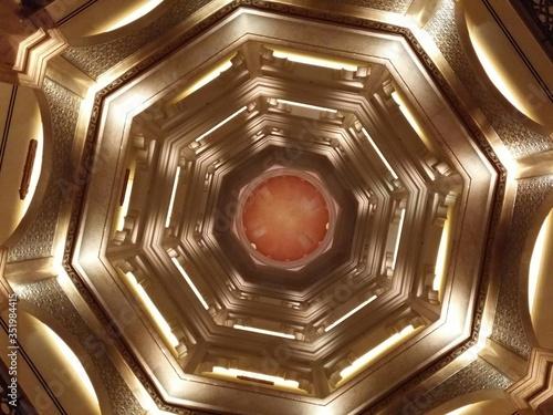Directly Below View Of Cupola Fotobehang