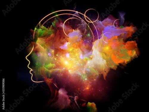 Obraz Evolving Human Mind - fototapety do salonu