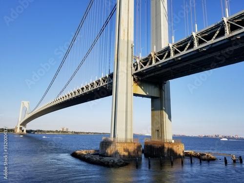 Photo puente verrazano new york a staten island