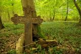 Cmentarz stary krzyże napisy tablice