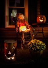 Illuminated Jack O Lantern Out...
